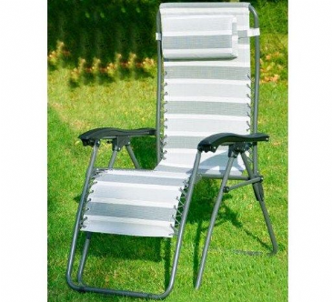 Crusader Edwin Charcoal Lounger